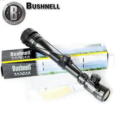 Bushnell Rifle Scope 4-16x40 RED Green Illuminated Reticle Riflescope Sight HD