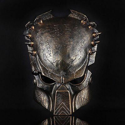 Sammlerstück Predator vs Alien Cosplay Maske Schutzmaske Halloween Deluxe (Deluxe Alien Kostüme)
