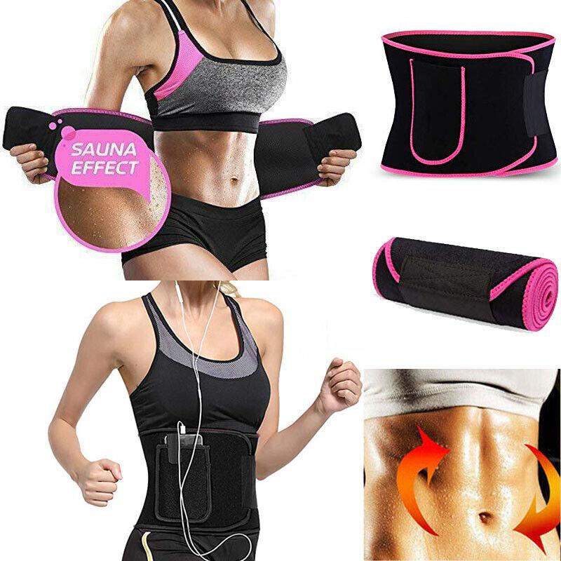 sweet and sweat fat burner waist trimmer