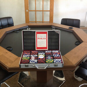 8 Man (Ladies) Poker Table