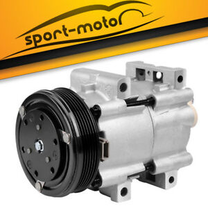 A/C Compressor w/ Clutch fit for FS10 90-09 Ford Ranger Mazda Mercury 52499318