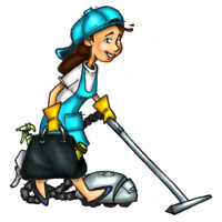 TODAY and TOMORROW cleaning lady available
