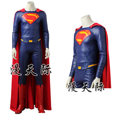 Superman Clark Kent Kostüm (Justice League 2017 Superman Clark Kent Movie Cosplay Kostüm Costume Outfit)