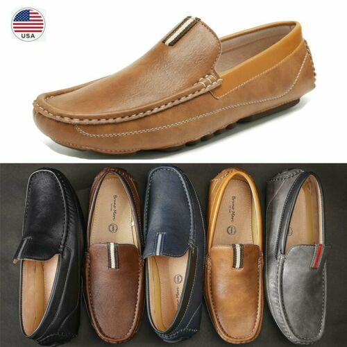 Bruno Marc Men's Casual Loafers Moccasins Slip on Driving Shoes US Sizes 6.5-15