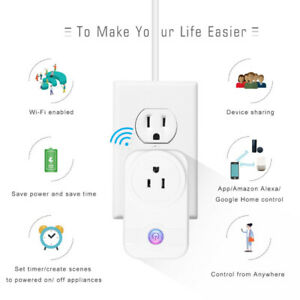 Brand New Smart Plug, Mini Socket Outlet