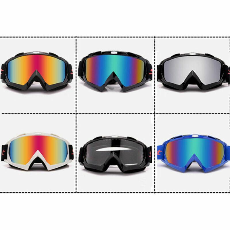 Goggle Brille Klar MTB MX Downhill Mountain Bike Motocross Offroad Schutzbrillen