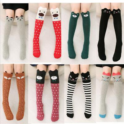 Women's Cute 3D Cartoon Animals Thigh Stockings Over Knee High Long Socks Fancy
