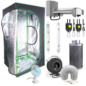 Complete 4' x 4' Hydroponic Grow Tent Kit