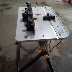 Router table mastercraft buy or sell tools in ontario kijiji router with table keyboard keysfo Image collections