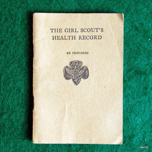 VINTAGE 1929 GIRL SCOUT - THE GIRL SCOUT