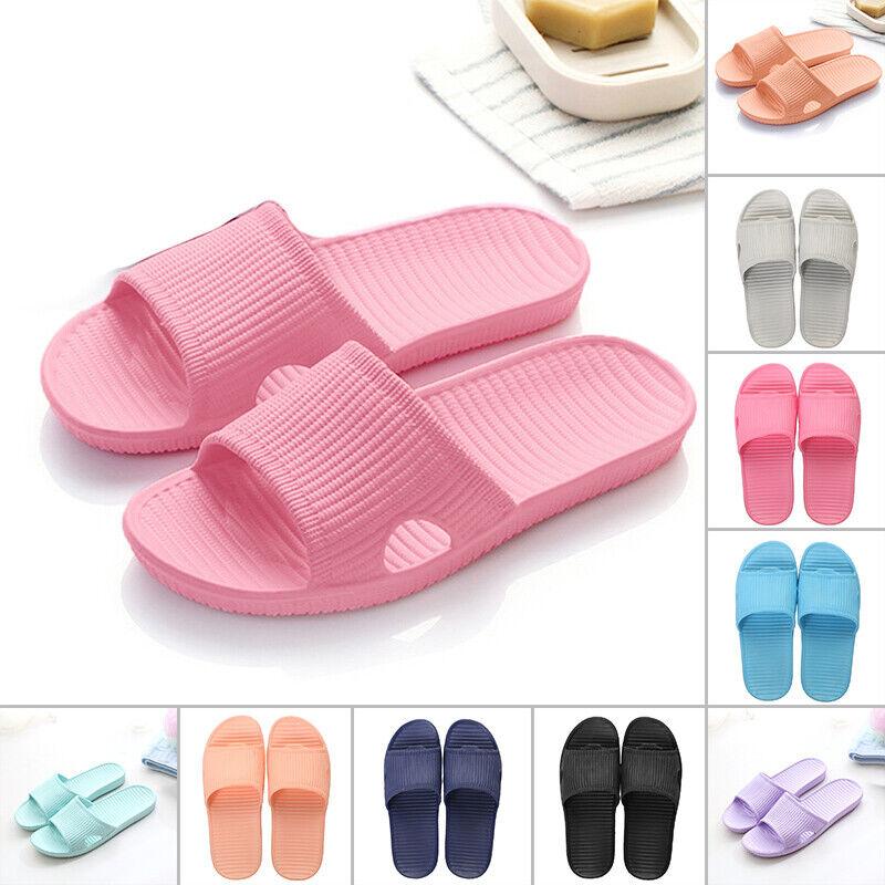 Men/Women Summer Beach Shoes Sandals Anti Slip Breathable Shower Home Slippers 1