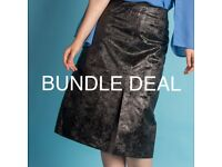 PU leather skirt bundle