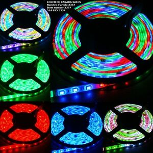 5M 3528 Waterproof SMD RGB 300 LEDs Light Flexible Strip Lamp
