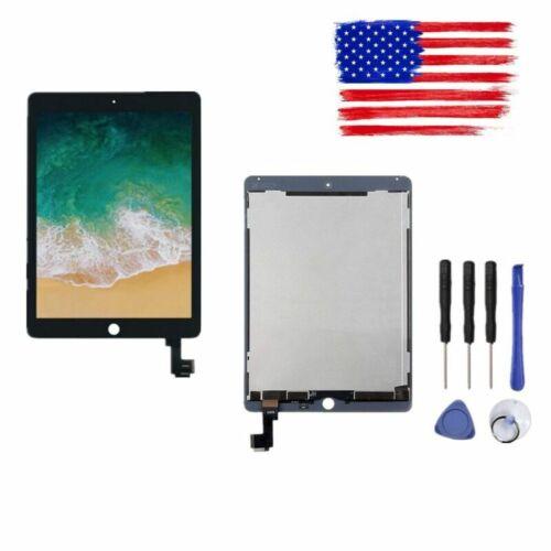 Black For iPad Air 2 A1567 A1566 LCD Display Touch Screen Di