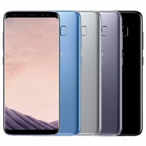 Samsung Galaxy S8 64GB G950U/S8 PLUS G955U Factory Unlocked Smartphone Android Cell Phones & Accessories