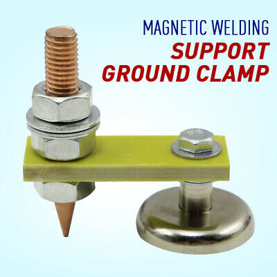 Metal Welding Magnet Head Magnetic Welding Support Ground Clamp Without Tail 1pc