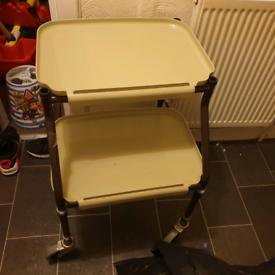 Height Adjustable Strolley Kitchen Trolley