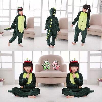 Dinosaur Child Kigurumi Pajamas One Piece Cosplay Costume Cute Sleepwear