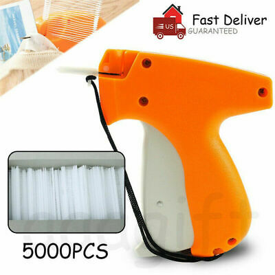 Clothing Garment Price Label Tagging Tag Gun Needle Machine 5000 1 Or 2 Barbs