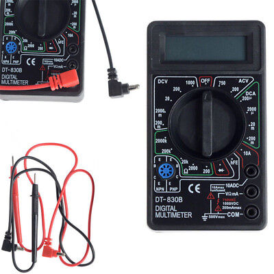 Mtb02 Digital Multitester Multimeter Test Multi Meter Volt Amp Ac Dc Craft Wh1