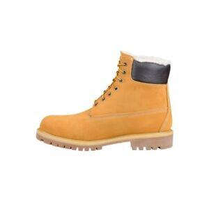 New !Timberland Men's 6'' Premium Fleece Lined Waterproof Boots