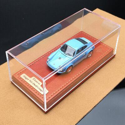 Make Up Titan 1:64 Car Model Porsche Singer 911 964 Coupe Gulf Collection TM001A