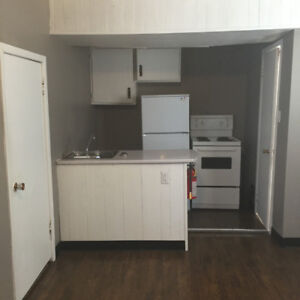 Bachelor Apartment, with ALL utilities included, available immed