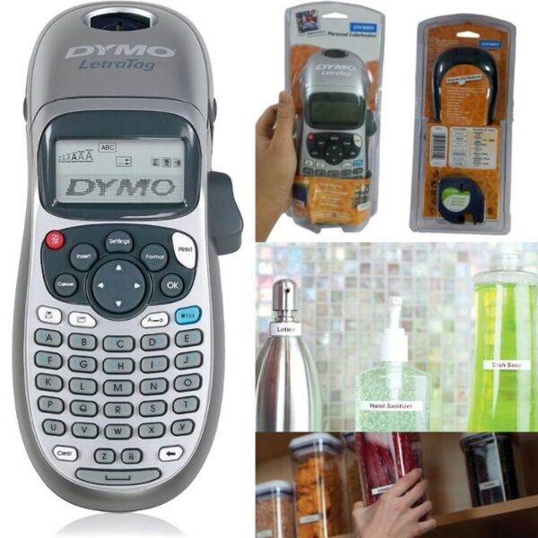 DYMO LetraTag LT-100H Handheld Label Maker for Office or Home - Label Printer - Colors May Vary