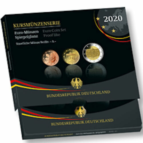 2020 Germany 9-Coin Proof Set - Berlin Mint (A)