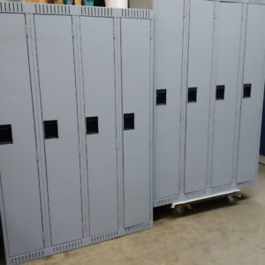 Single tier lockers; Metal lockers; School Lockers