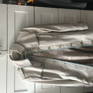 Authentic Burberry Trench Coat size 4