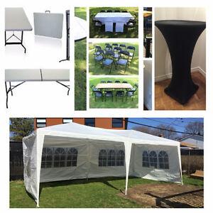 location table et chaise | services dans grand montréal | petites ... - Location De Table Et Chaises