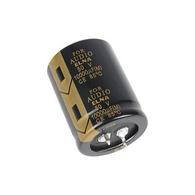 Elna 10000uf 50v Fever Audio Lao Series Filter Electrolytic Capacitor 3050mm