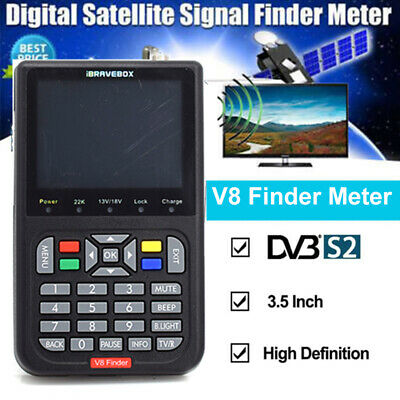 V8 Finder LCD Satellite Signal Finder 1080P DVB-S/S2 Satellite Receiver Detector