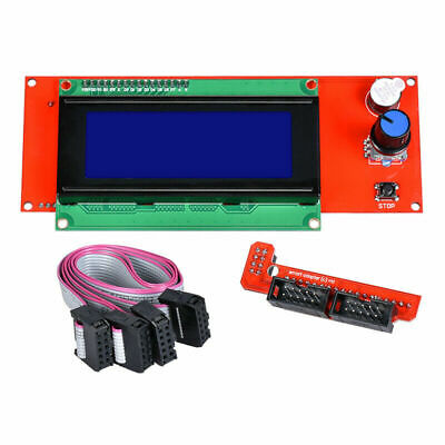 Reprap Ramps 1.4 2004 Lcd Display 3d Printer Smart Lcd Control With Adapter