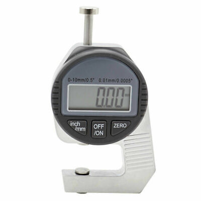 Mini Digital Thickness Gauge 0.01mm 0-10mm With Small Head Thickness Meter