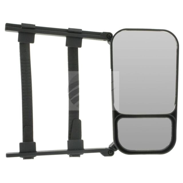 Towing Mirror & Convex Clip On For Towing Large Caravan Trailer Boat 1 Per Pack