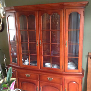 Roxton Maple Hutch and Buffet