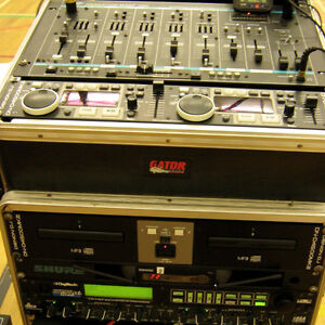 Sound system available - with sound man/DJ. Starting at $235!