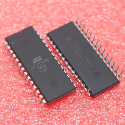 AT28C256 256Kbit (32k x 8) Parallel Memory EEPROM DIP28 IC. New UK Stock