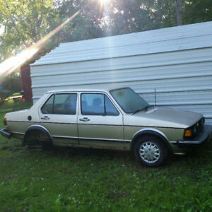 1984 Jetta Diesel for sale as parts car