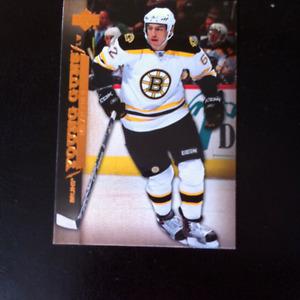 Edmonton Oilers Young Gun rookie hockey cards