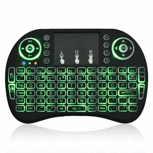 3 color backlit keyboard remote control for Android box