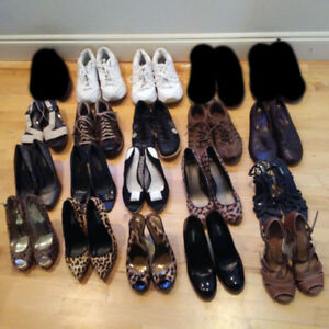 25 Pairs of Shoes - Great Brands and Condition!