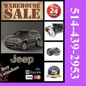 Jeep Grand Cherokee ■ Bearings, Calipers ► Roulements, Étriers
