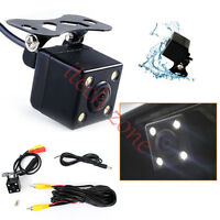 Universal Led Car Rear Front View Camera Night Vision Waterproof Backup Parking - does not apply - ebay.co.uk