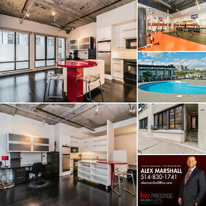 Imperial Lofts with garage!