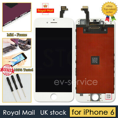 "White Screen For iPhone 6 4.7"" LCD Touch Display Digitizer Replacement Assembly"