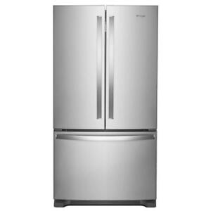 "Home appliances in Toronto |Whirlpool WRF535SMHZ 36"" Inch French 3-Door Refrigerator (BD-913)"