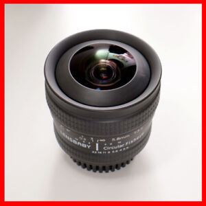 Lensbaby Circular Fisheye 5.8mm f/3.5 Lens for Nikon
